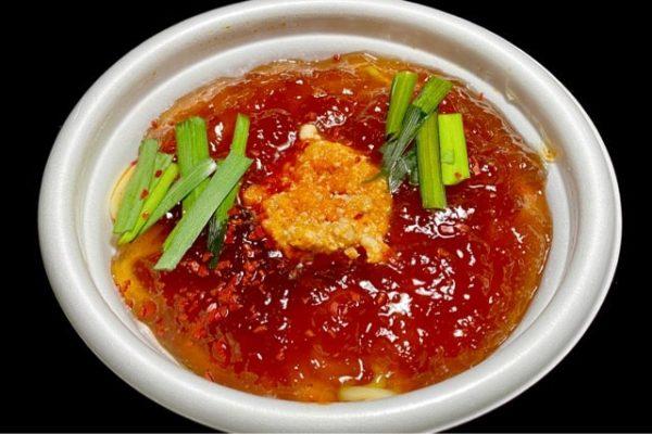 加熱前のミニ台湾ラーメン